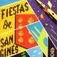 Programa Fiestas San Gines 1961