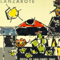 Programa Fiestas San Gines 1960