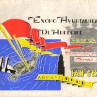 Programa Fiestas San Gines 1958