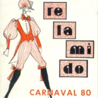 Libreto Murga RELAMIDO 1980