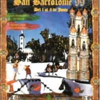 Semana cultural San Bartolome 1999.