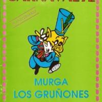 Libreto Murga Gruñones 1992