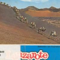 Lanzarote La isla de los volcanes. Año 1974.