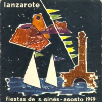 Programa Fiestas San Gines 1959