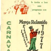 Libreto Murga RELAMIDO 1977